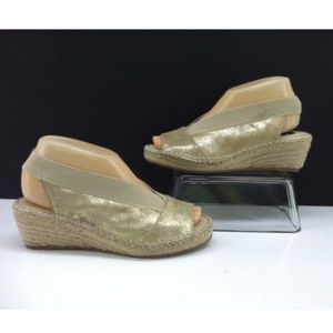 Steven by Steve Madden Indiggoo Gold Wedges